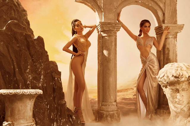 """Trước giờ G hé lộ những thiết kế gợi cảm của NTK Đỗ Long, MR CRAZY & LADY SEXY chắc chắn sẽ """"đốt cháy"""" sàn diễn Aquafina Vietnam International Fashion Week 2020 - ảnh 3"""