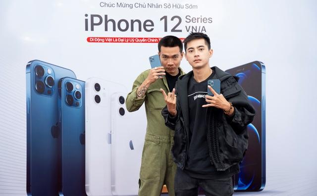 Wowy sở hữu iPhone 12 Pro Max VN/A trong ngày đầu mở bán tại Việt Nam - Ảnh 4.