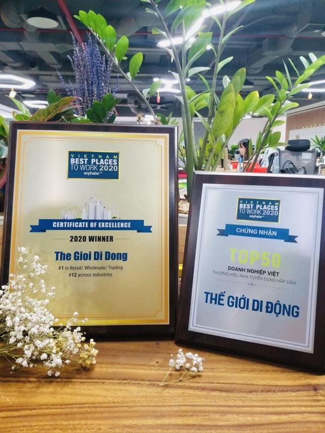 Từ 'Trải nghiệm khách hàng' đến 'trải nghiệm nhân viên' – MWG luôn dẫn đầu với 3 giải thưởng quan trọng - Ảnh 2.