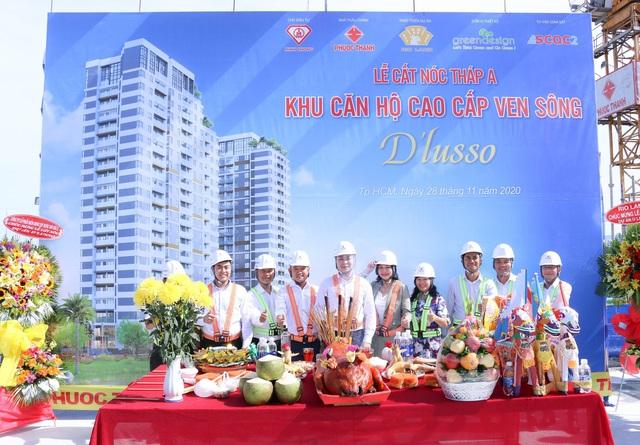 Lễ cất nóc dự án d'Lusso Quận 2 - Ảnh 2.