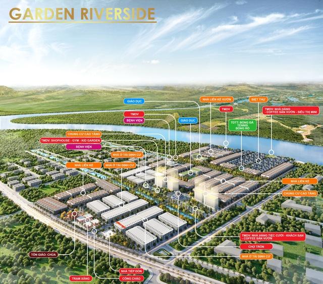 Garden Riverside- Dự án pháp lý hoàn chỉnh hiếm hoi tại Long An - Ảnh 1.