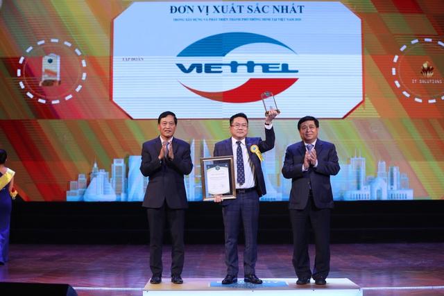 Chủ động quy hoạch hệ sinh thái số, Viettel là doanh nghiệp xuất sắc tại giải thưởng Thành phố thông minh Việt Nam 2020 - Ảnh 1.