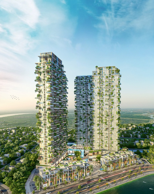 Tập đoàn thiết kế hàng đầu Dubai thiết kế tháp xanh biểu tượng Ecopark - Ảnh 1.