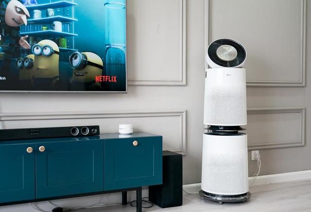 Trải nghiệm máy lọc không khí LG PuriCare 360 độ: Lọc hiệu quả 99% bụi siêu mịn PM0.01, thiết kế sang trọng, tinh tế - Ảnh 2.