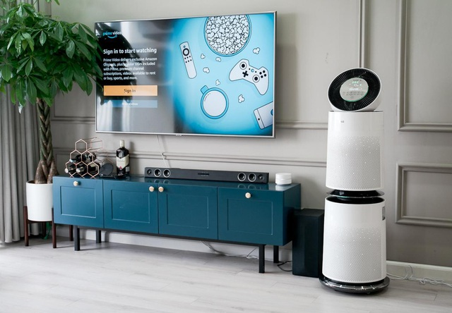 Trải nghiệm máy lọc không khí LG PuriCare 360 độ: Lọc hiệu quả 99% bụi siêu mịn PM0.01, thiết kế sang trọng, tinh tế - Ảnh 3.