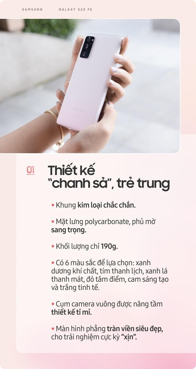 Samsung Galaxy S20 FE: Smartphone dành cho giới trẻ sành điệu - Ảnh 2.