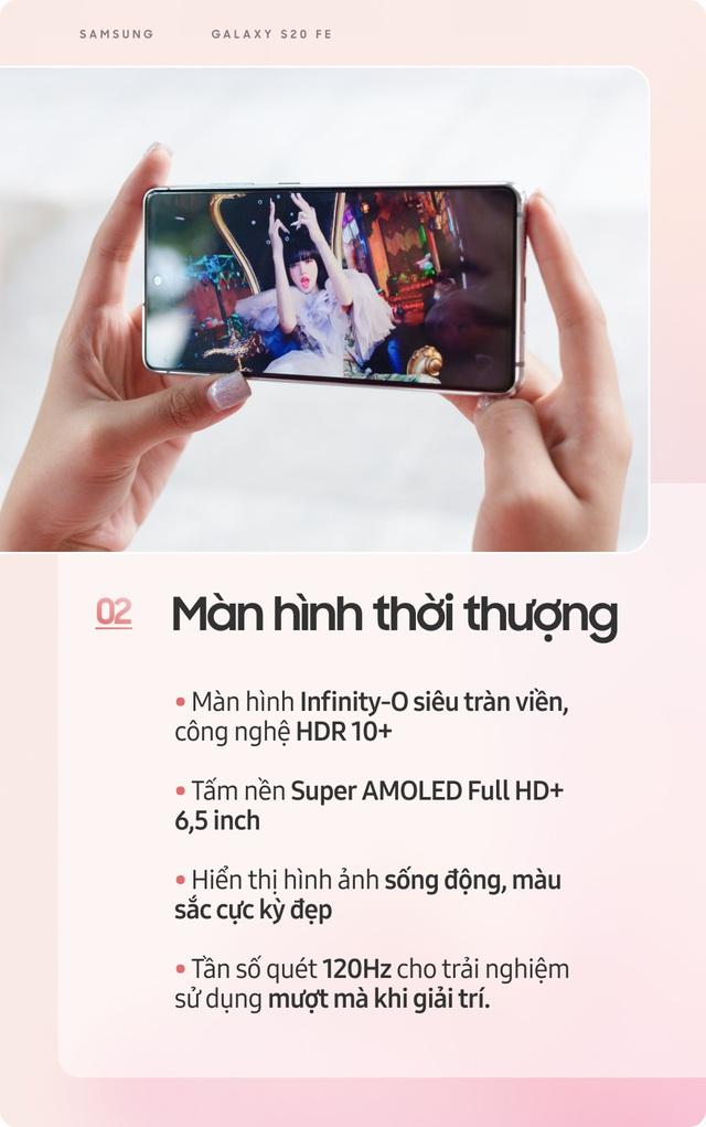 Samsung Galaxy S20 FE: Smartphone dành cho giới trẻ sành điệu - Ảnh 3.