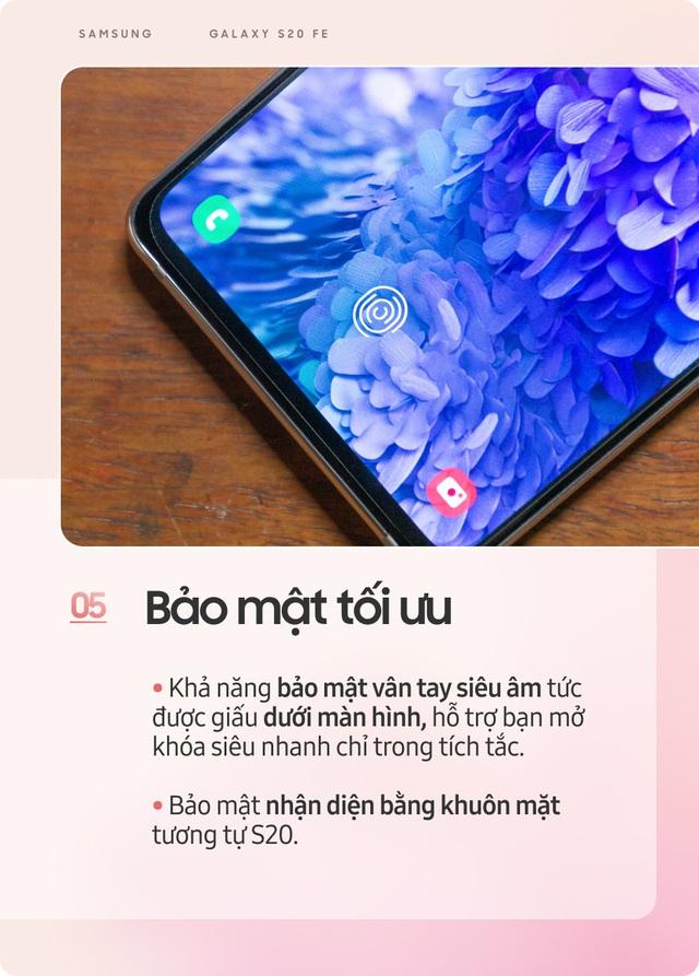 Samsung Galaxy S20 FE: Smartphone dành cho giới trẻ sành điệu - Ảnh 5.
