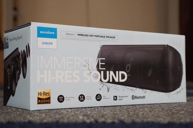 Trải nghiệm âm thanh chất lượng Hi-Res hàng đầu với loa SoundCore Motion+ - Ảnh 2.