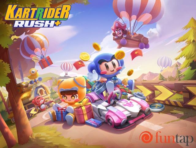 KartRider Rush+ - game bom tấn đua xe được mong chờ nhất 2020 chính thức ra mắt - Ảnh 1.