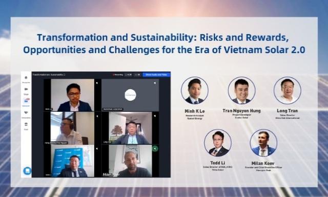 Vietnam Solar E-Expo 2020: Nền tảng kết nối kinh doanh trực tuyến một cửa được tổ chức - Ảnh 4.