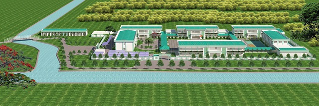Lễ công bố tài trợ xây dựng trường học ở xã Kiên Bình, huyện Kiên Lương, tỉnh Kiên Giang - Ảnh 1.