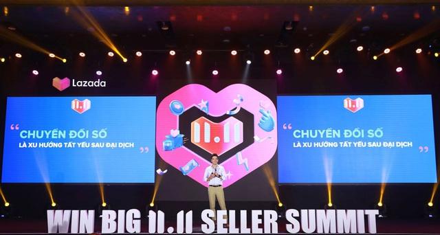 Không đứng ngoài cuộc, các doanh nghiệp tổng lực khuyến mãi cho Lễ hội mua sắm 11.11 - Ảnh 1.