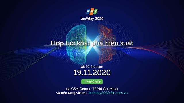 Diễn đàn công nghệ FPT TECHDAY 2020 chính thức khởi động - Ảnh 1.
