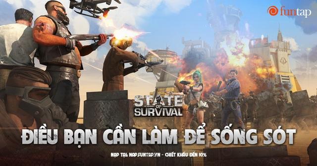 State of Survival: Game mobile chiến lược sinh tồn ngày tận thế hàng đầu thế giới đã xuất hiện tại Việt Nam - Ảnh 1.