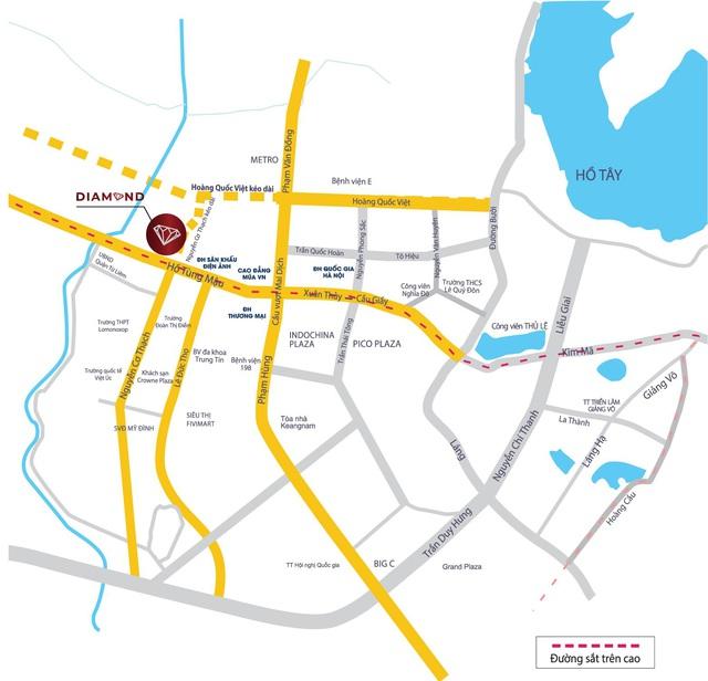 Tòa Diamond - Goldmark City – Tọa độ tâm điểm kết nối tương lai Tây Hà Nội - Ảnh 1.