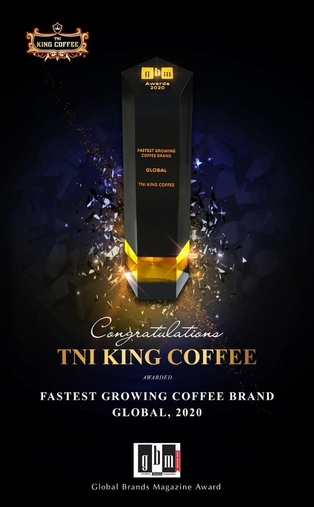 TNI King Coffee nhận giải thưởng thương hiệu cà phê phát triển nhanh nhất thế giới - Ảnh 3.