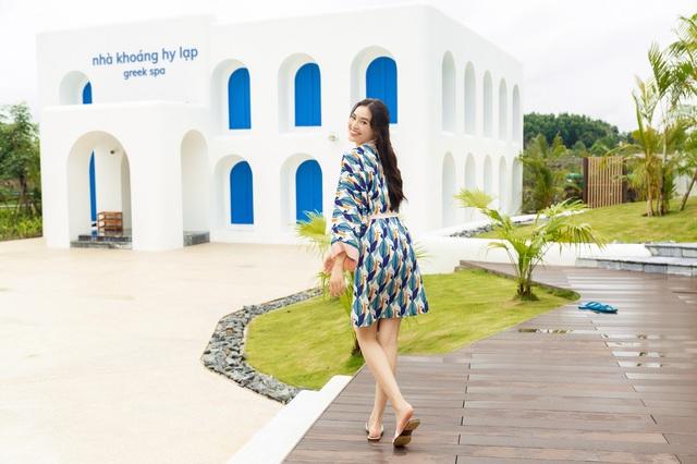 Diễn viên Lan Ngọc tìm đến Minera Hot Springs Bình Châu để tận hưởng và thư giãn - Ảnh 4.