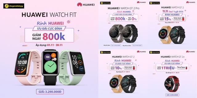 """Đại tiệc mua sắm Huawei 11.11: Bùng nổ deal """"khủng"""" cho hội mê công nghệ - Ảnh 5."""