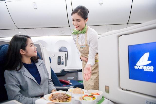 Mua vé bay Thương gia Bamboo Airways, nhận ngay voucher nghỉ dưỡng và thẻ golf - Ảnh 1.