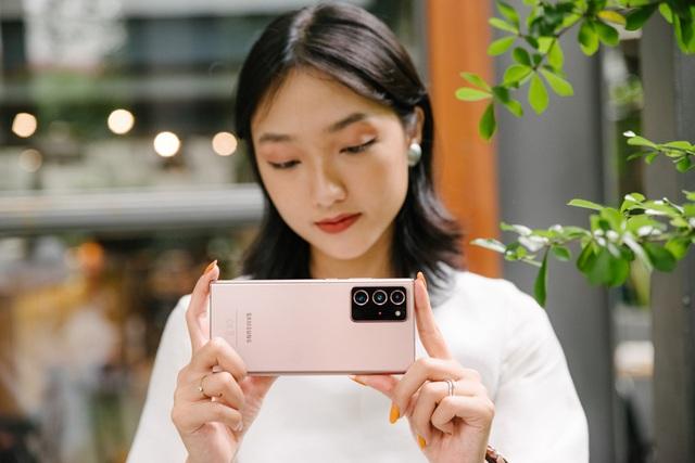 Chuyện những nhà sáng tạo chuyên nghiệp tận dụng Galaxy Note20 - ảnh 4