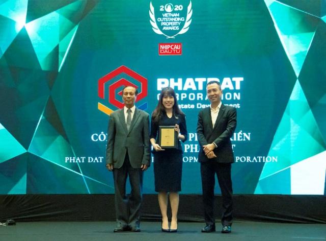 Phát Đạt được vinh danh Top 10 nhà phát triển bất động sản tiêu biểu 2020 - Ảnh 1.