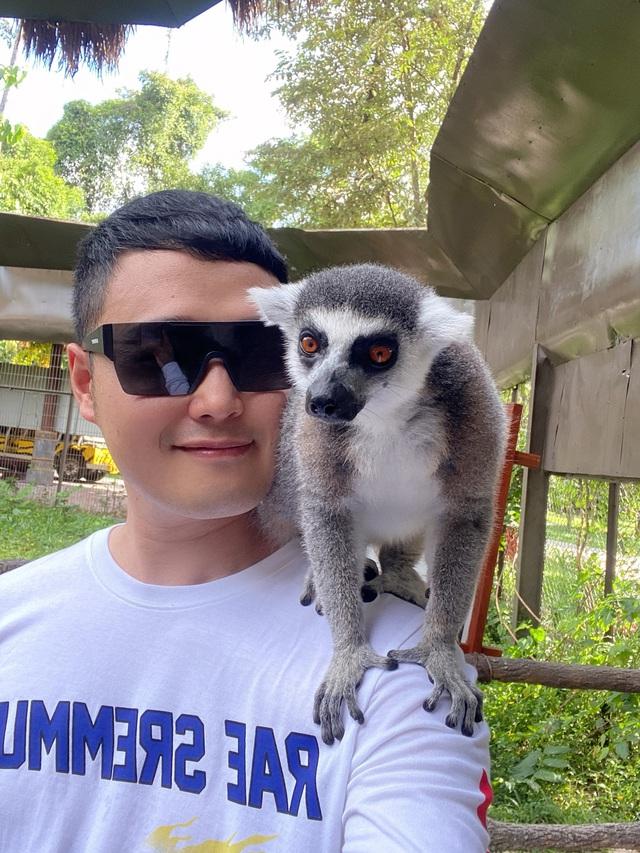 """""""Một vé đi tuổi thơ"""" cùng Quang Vinh - Phạm Quỳnh Anh tại VinWonders & Vinpearl Safari kỳ thú - Ảnh 5."""