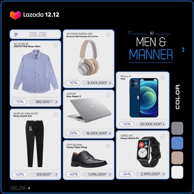 5 style thời trang công nghệ ưu đãi khỏe ví đến 50% cho anh em lên đồ cuối năm - Ảnh 2.