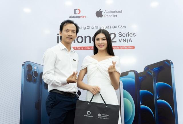 Á hậu Ngọc Thảo gợi ý địa chỉ sắm iPhone 12 mới - Ảnh 1.