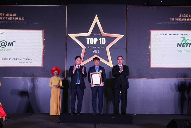 FPT Telecom được vinh danh Top 10 Doanh nghiệp Hạ tầng số hàng đầu Việt Nam - Ảnh 1.