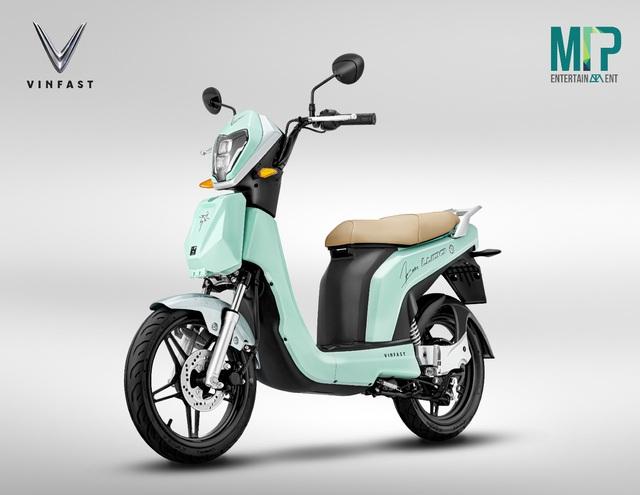 Vinfast hợp tác M-TP Entertainment ra mắt xe máy điện phiên bản đặc biệt - Ảnh 1.