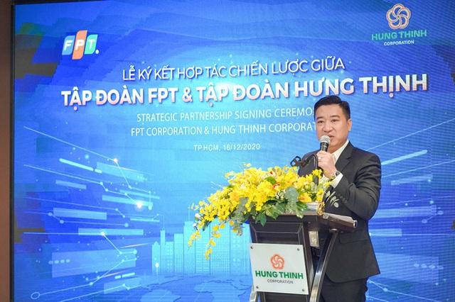 Tập đoàn Hưng Thịnh ký kết hợp tác chiến lược cùng Tập đoàn FPT - Ảnh 2.