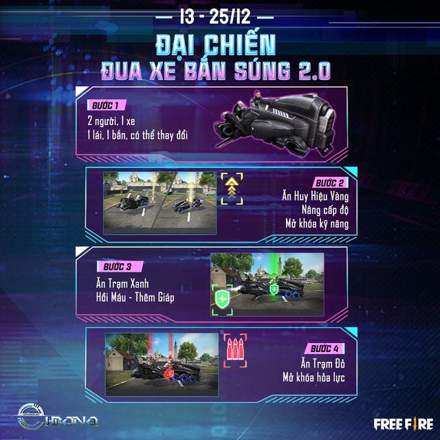 Hé lộ vũ trụ xoay quanh nhân vật của Chrono, cảm hứng từ CR7 trong Free Fire - Ảnh 3.