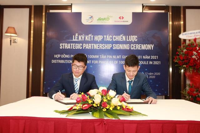 Jinko Solar và Long Tech ký thỏa thuận phân phối 100MW tấm năng lượng mặt trời - Ảnh 3.