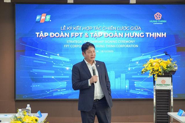 Tập đoàn Hưng Thịnh ký kết hợp tác chiến lược cùng Tập đoàn FPT - Ảnh 3.