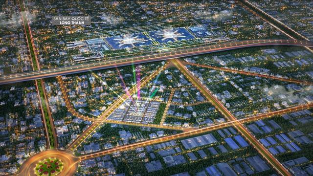 """Bất động sản Long Thành """"cất cánh"""" nhờ hạ tầng và công nghiệp - Ảnh 1."""