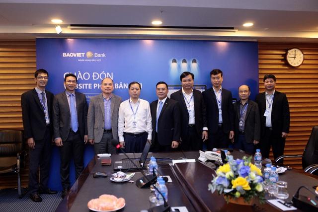 BAOVIET Bank tăng trải nghiệm khách hàng với website phiên bản mới - Ảnh 1.