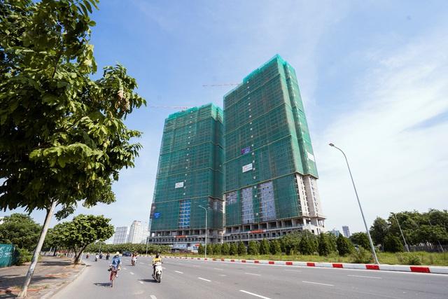 2 tòa tháp cao 44 tầng The Matrix One đã hoàn thiện thi công phần thô