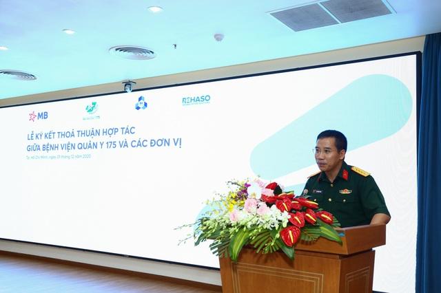 MB và Bệnh viện Quân y 175 ký kết thỏa thuận hợp tác chiến lược - Ảnh 1.