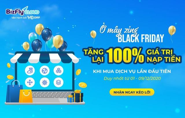 Ờ mây zing BLACK FRIDAY - Tặng 100% giá trị gói hạ tầng website, app bán hàng - Ảnh 2.