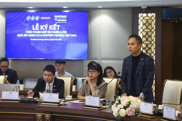 Tập đoàn FLC và Suntory PepsiCo Vietnam ký kết hợp tác chiến lược - Ảnh 2.