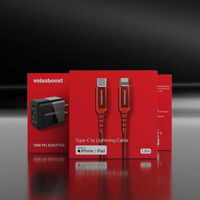 iPhone 12 bỏ phụ kiện, Việt Nam đã có thương hiệu ra mắt sạc nhanh tiêu chuẩn MFi cho iphone 12 - Ảnh 2.