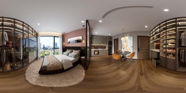 Một mẫu thiết kế hoàn thiện nội thất tại căn hộ mẫu The Matrix One