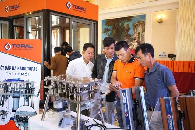 Topal – Nhôm Việt được đầu tư nghiêm túc và bài bản - Ảnh 4.