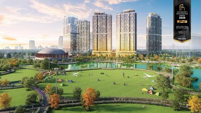 The Matrix One là Dự án hạng sang có thiết kế kiến trúc đẹp nhất Đông Nam Á 2020 - Ảnh 1.