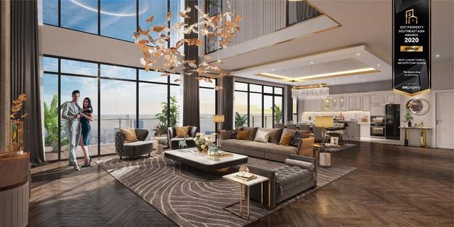 The Matrix One là Dự án hạng sang có thiết kế kiến trúc đẹp nhất Đông Nam Á 2020 - Ảnh 2.
