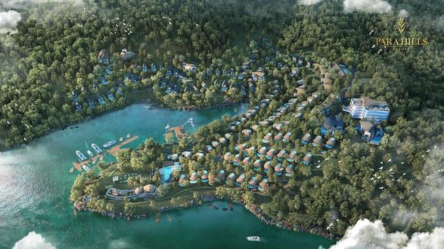 """Parahills Resort nằm giữa lòng thung lũng Thung Nai – """"Vịnh Hạ Long trên núi"""" của Tây Bắc"""