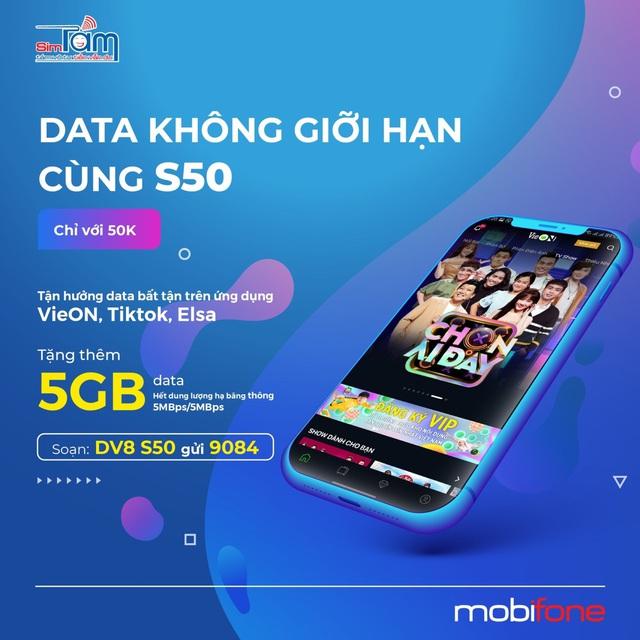Tận hưởng 5GB từ gói cước S50 - Yên tâm săn quà online Head to 2021 - Ảnh 1.