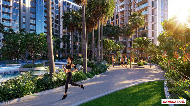 Tận hưởng cuộc sống nghỉ dưỡng: giấc mơ viên mãn giữa lòng đô thị - Ảnh 2.