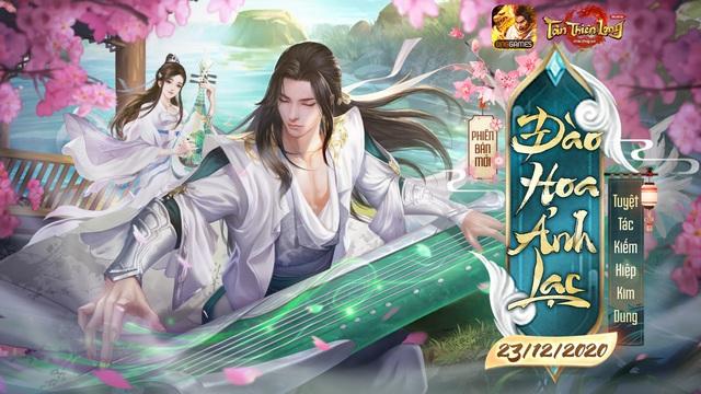 Tân Thiên Long Mobile - VNG chính thức ra mắt phiên bản mới - Đào Hoa Ảnh Lạc - Ảnh 1.